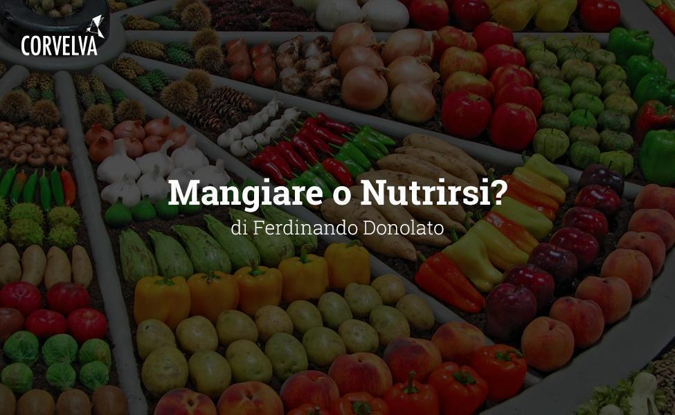 Essen oder füttern?