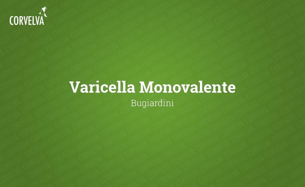 Varicelle monovalente