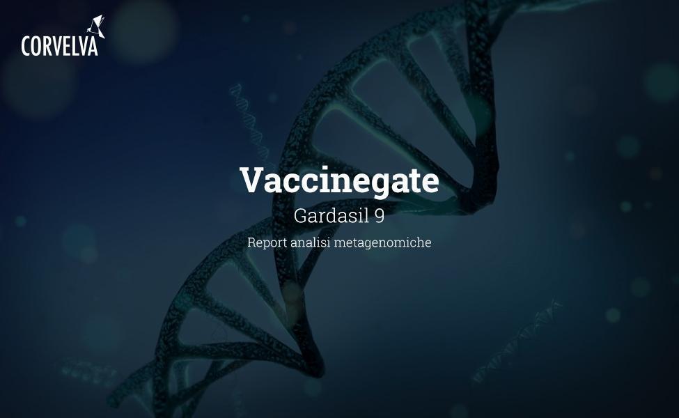 Análisis metagenómico en Gardasil 9