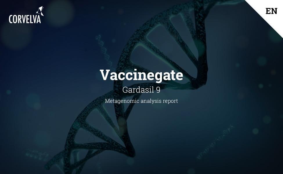 Metagenomic analysis report on Gardasil 9