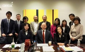 HPV vaccine lawyer Mark Sadaka meets 11 Japanese lawyers