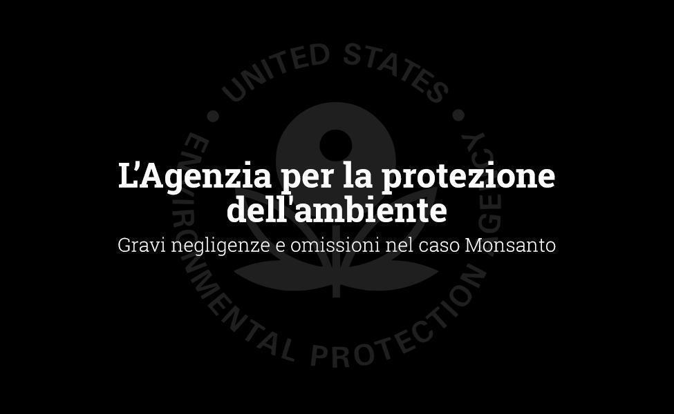 EPA: negligência e omissões graves no caso Monsanto
