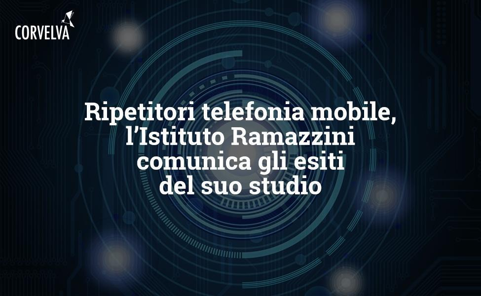 Mobile phone repeaters, the Ramazzini Institute communicates the results of its study