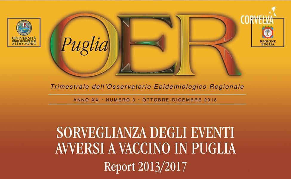 אזור פוליה. מעקב אחר אירועי חיסון לוואי בפוליה. דוח 2013/2017