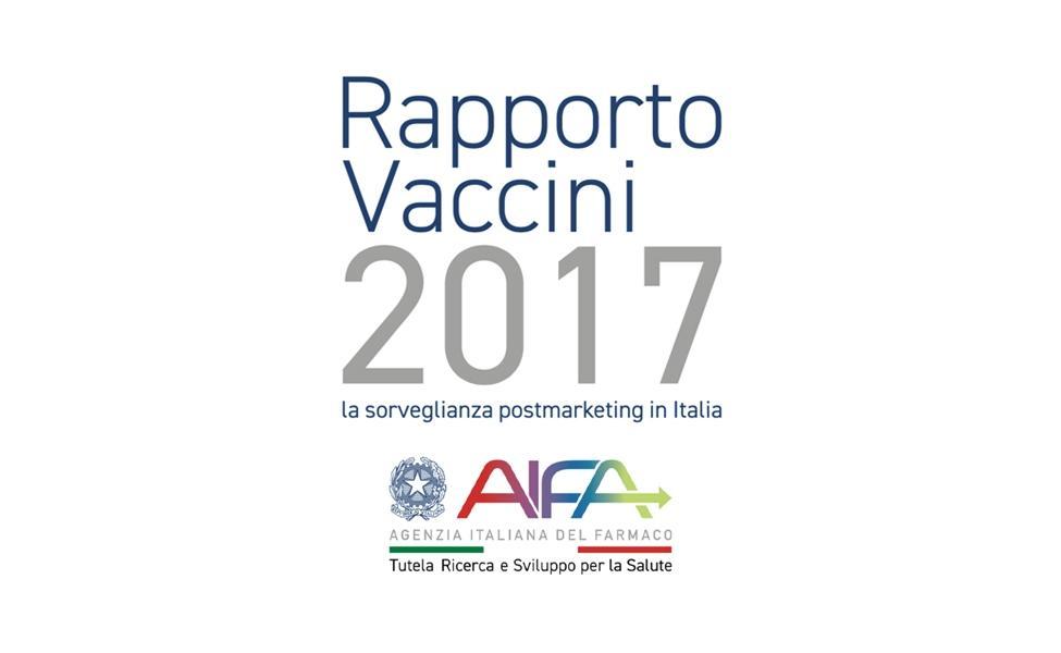 AIFA: Relatório de Vacinas 2017 - Vigilância pós-comercialização na Itália
