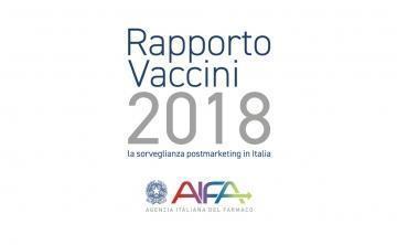 AIFA: 2018 Vaccine Report - Postmarketing surveillance in Italy