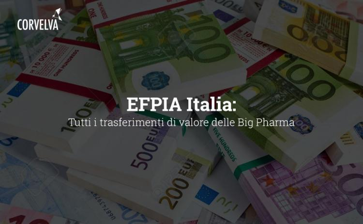 EFPIA Italy: All Big Pharma Value Transfers