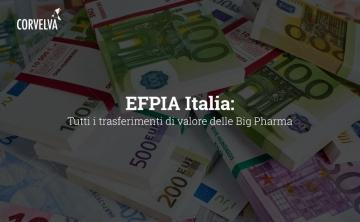 EFPIA Italy: All Big Pharma Value Transfers