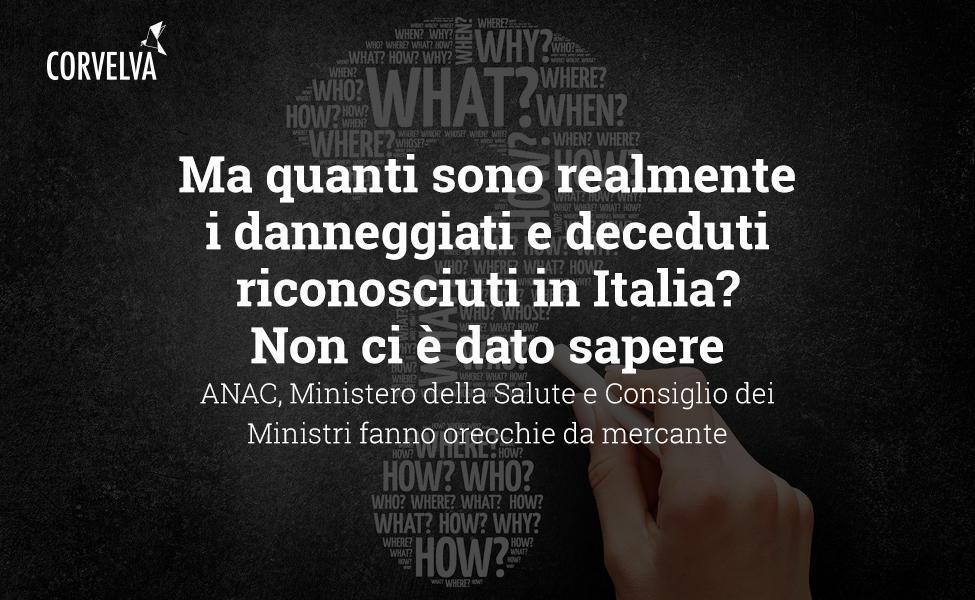Но сколько на самом деле пострадавших и умерших признано в Италии? Нам не сказали