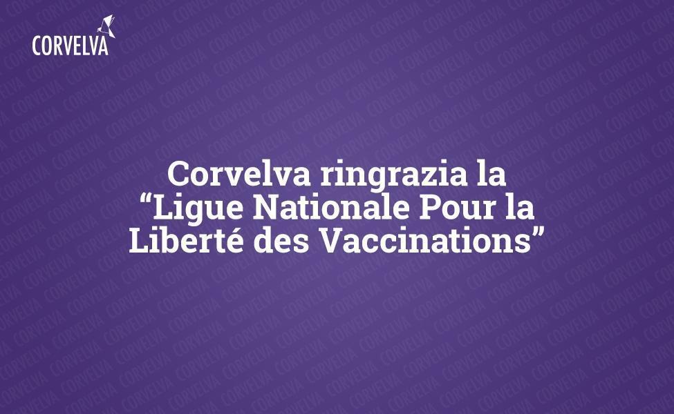 Корвельва благодарит Национальную лигу по вакцинации