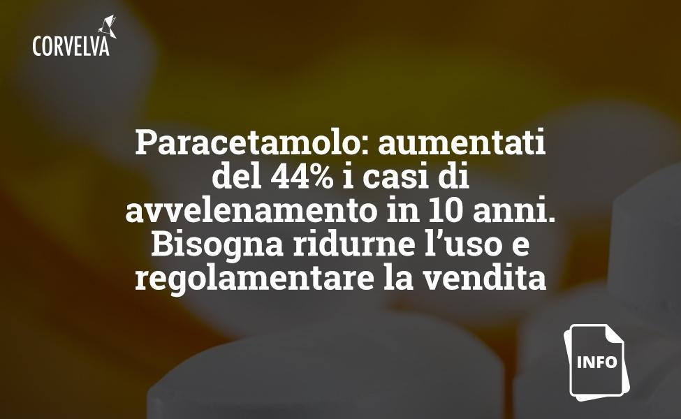 Paracetamol: cases of poisoning increased by 44% in 10 years. Its use must be reduced and its sale regulated