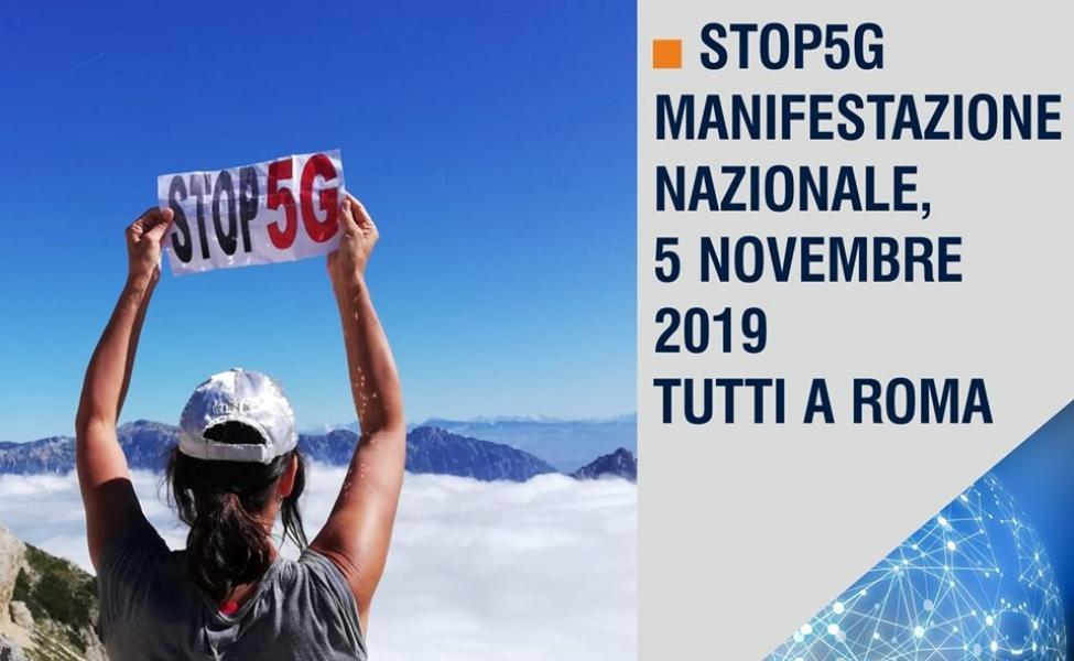 Corvelva unterstützt das italienische Event Stop 5G Alliance