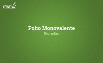 Monovalent polio