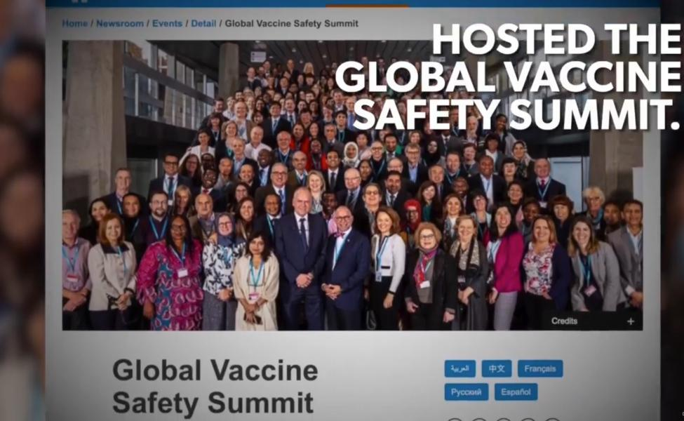 Cúpula Global de Segurança de Vacinas: especialistas fazem declarações sensacionais (sub Ita)