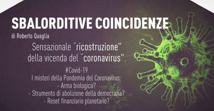 # Covid19 - צירופי מקרים מדהימים