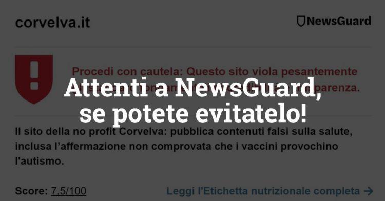 ¡Cuidado con NewsGuard, si puedes evitarlo!