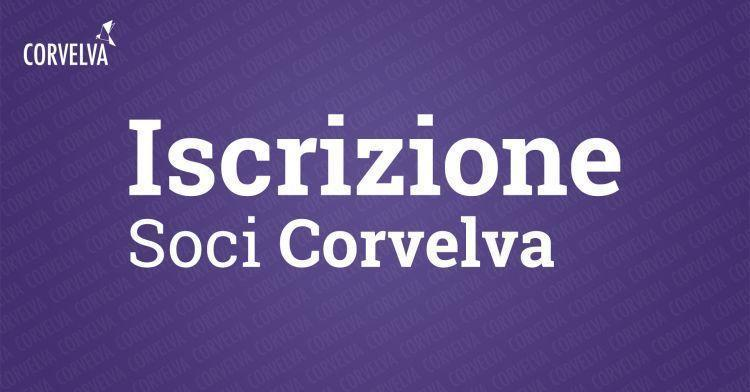 Inscription des membres Corvelva 2021