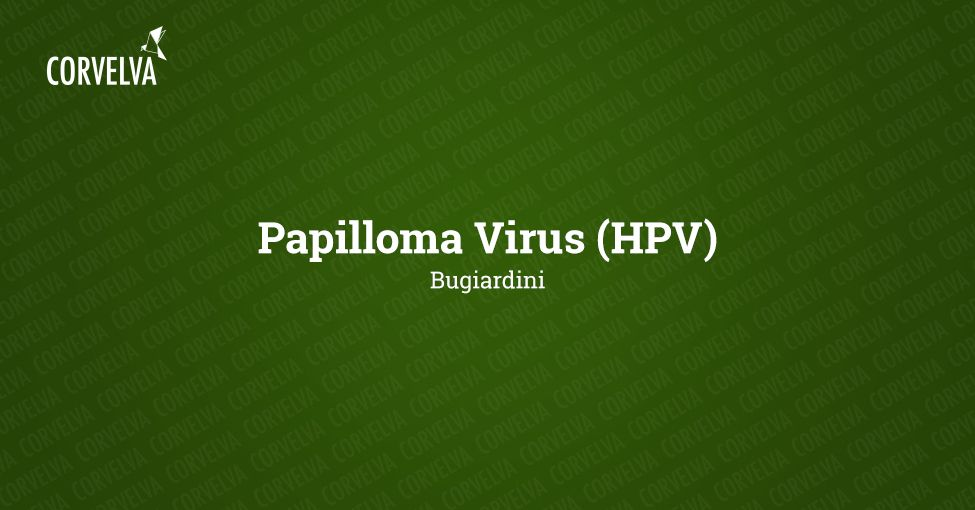 vaccino papilloma virus bugiardino