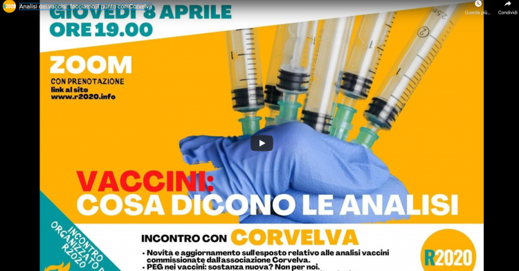 Analyse des vaccins: faisons le point avec Corvelva