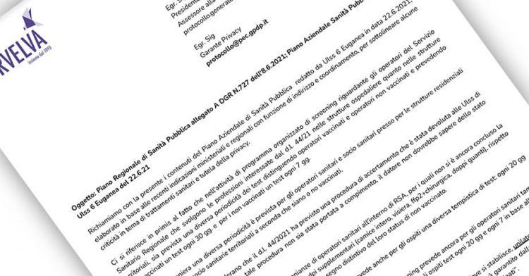 פרופילים של אי חוקיות של תוכנית הבריאות הציבורית האזורית בוונטו דווחו לערב הפרטיות